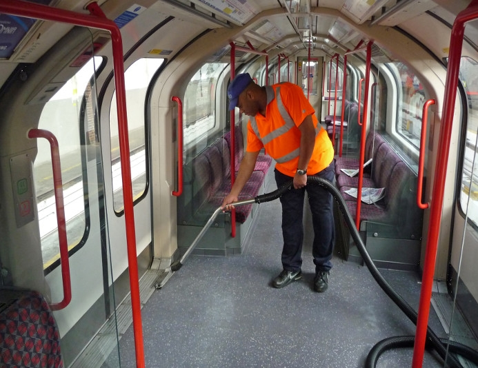 Centralised Train Cleaning Vacuum Systems