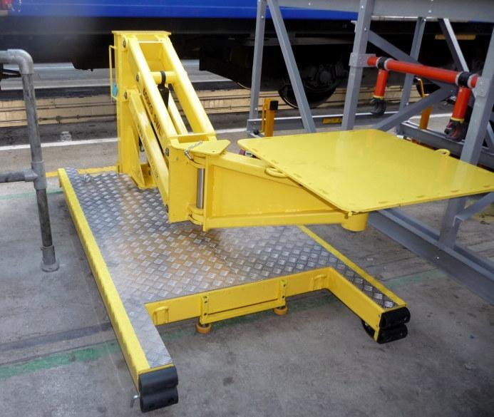 Manipulators For Lifting : Rail depot manipulators and handling aids